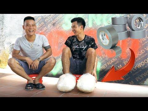 PHD | Làm Mọi Việc Với Đôi Giầy Băng Dính | Shoes Made Of Adhesive Tape