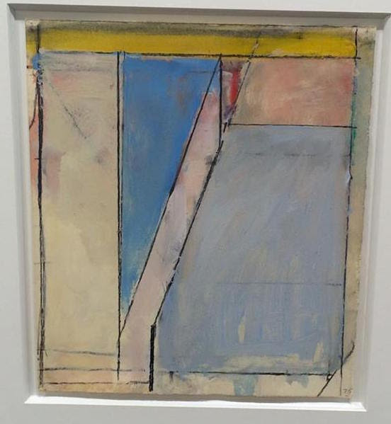Diebenkorn drawing from Van Doren Waxter