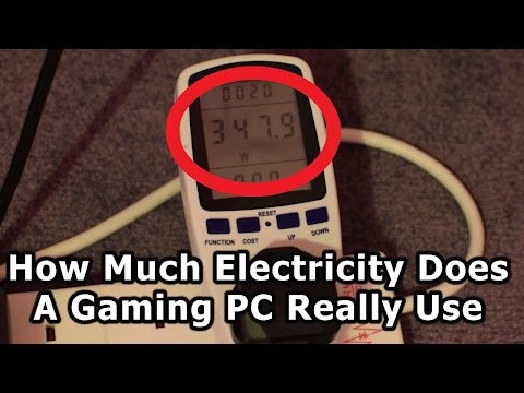 Gaming Pc Electricity Usage