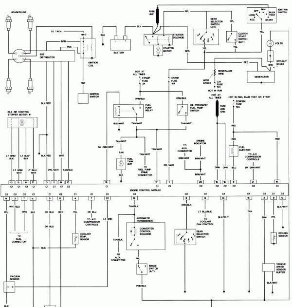 1993 Ford F150 Wiring Diagram - Wiring Schema