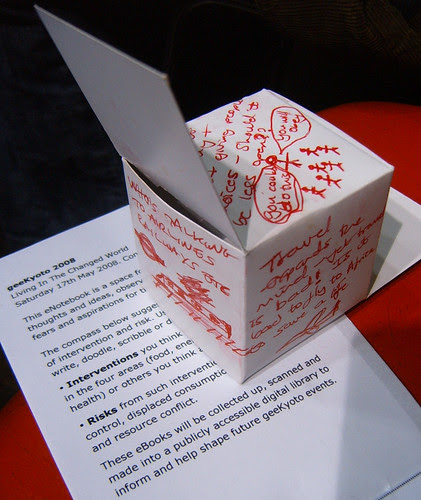 My Geekyoto Story Cube by Annie Mole