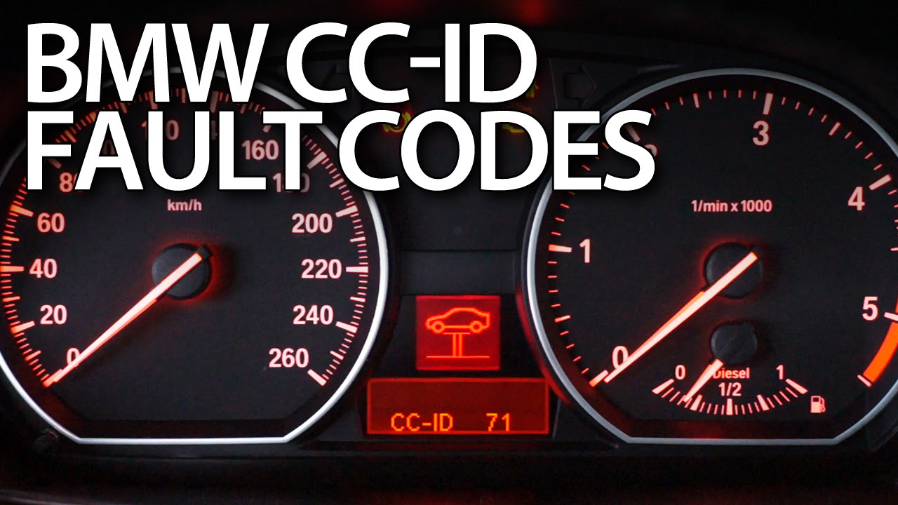 Bmw Cc Id Codes Fault And Warning Messages Mr Fixinfo