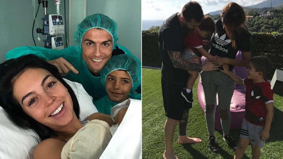 Los 9 Bebes De Futbolistas Que Estan En Camino Tras Alana Martina