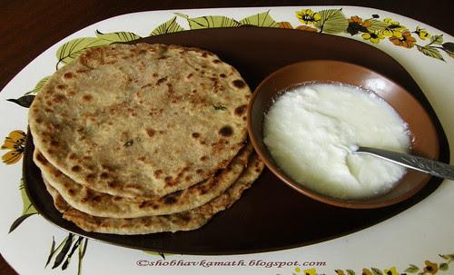 Raw Papaya Paratha 15