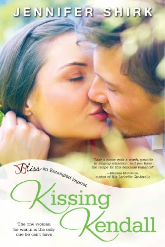 Kissing Kendall: A Maritime City Novel (Entangled Bliss) by Jennifer Shirk