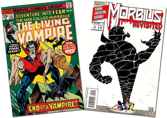 Fear #23 / Morbius Revisited #5
