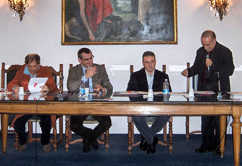 Conferenza stampa Creatives Are Bad 2008 - Salerno