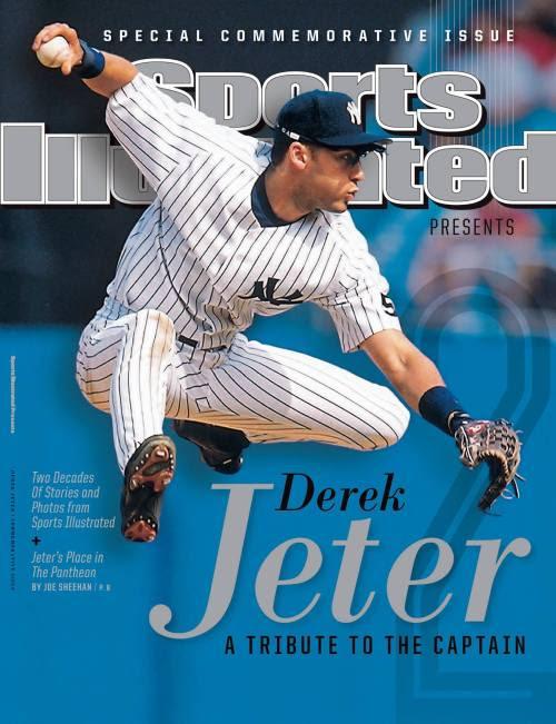 paulkatcher:<br /><br />Sports Illustrated's commemorative issue for Derek Jeter.<br />