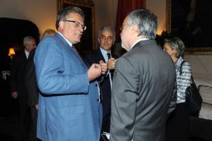 Stefano Folli Gaetano Quagliariello e Andrea Riccardi