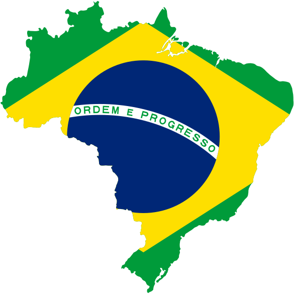 File:Map of Brazil with flag.svg