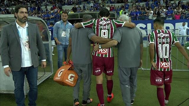 Fluminense perde a partida, seu atacante e a chance de se afastar da zona de rebaixamento