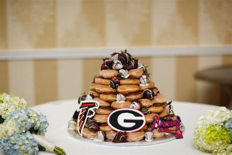 Groom's Cake: Krispy Kreme Donut Tower   Beth's wedding