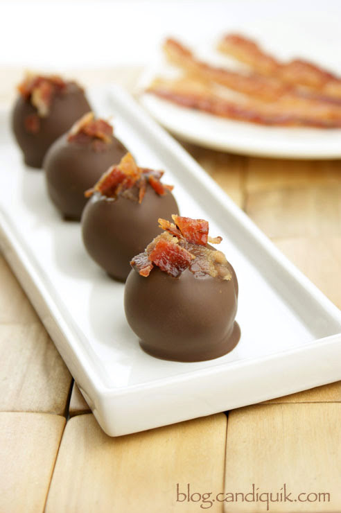 Chocolate Bacon Truffles