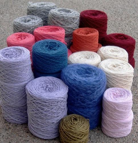 reclaimed yarn - january