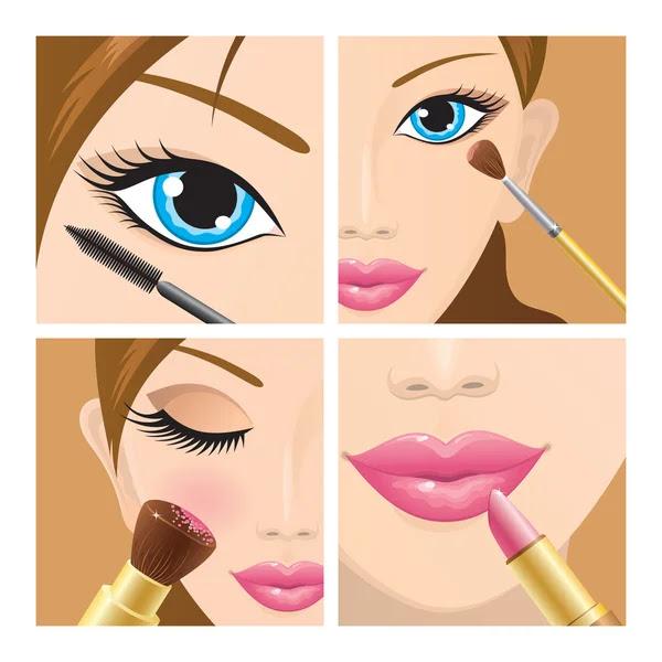 Make-up set | Stock Vector Y Tatiana Antonyuk #2491758