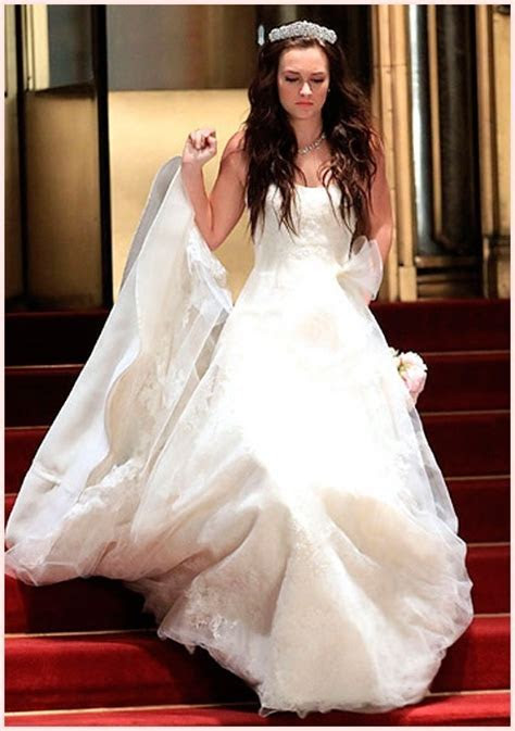 Blair Waldorf   Vera Wang wedding dress   Blair Cornelia