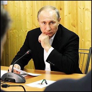 Владимир Путин в поездке по Крыму