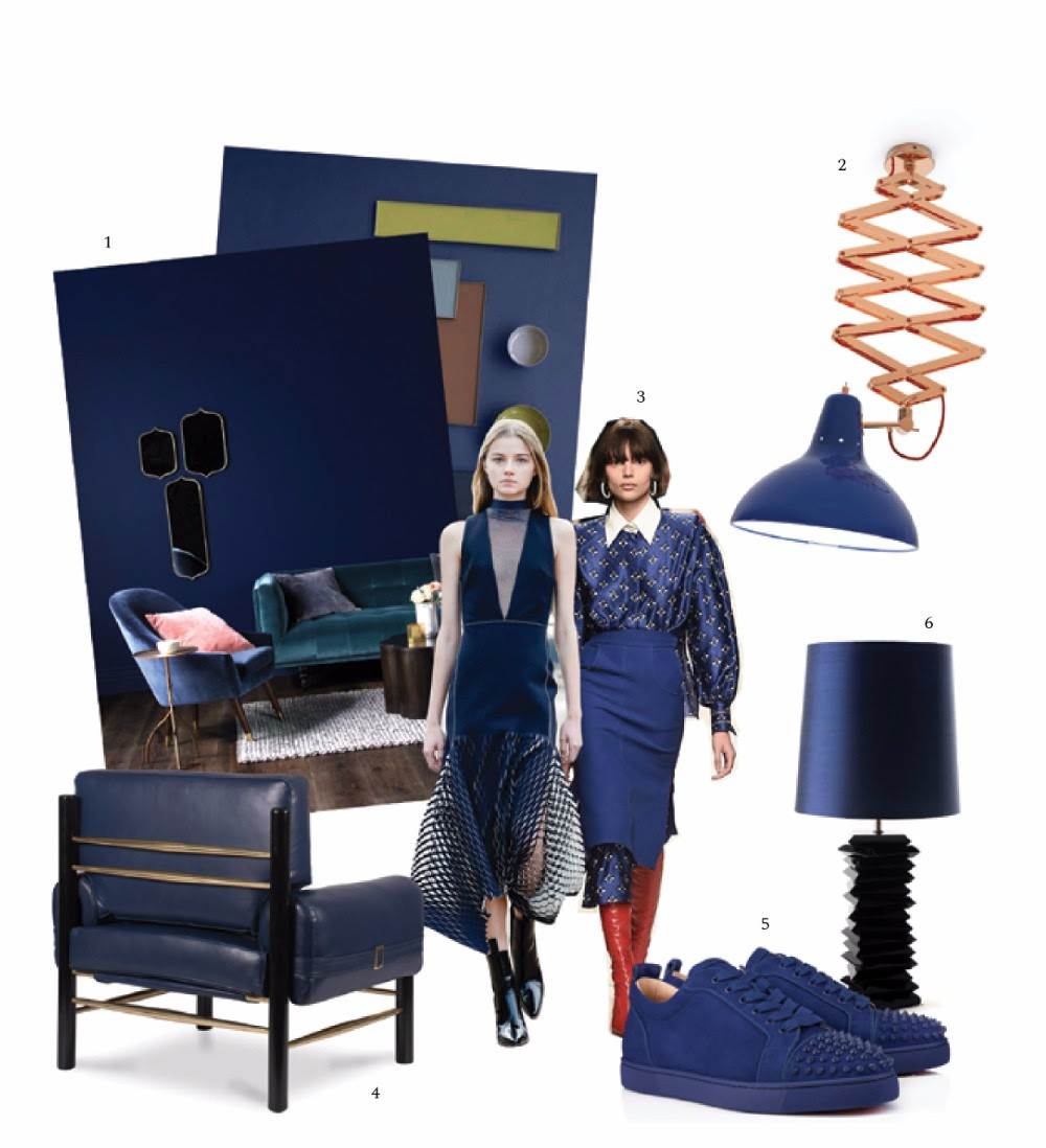 Trends Forecast 2018: Navy Blue trends Trends Forecast for Fall/Winter 2018 trends forecast 2018 colors navy blue page 003