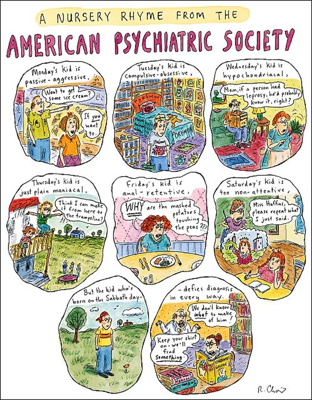 Enlarge to see the entire Roz Chast cartoon