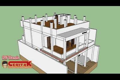 Desain Rumah 3 Lantai, Sederhana Mewah