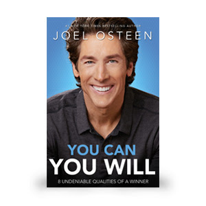 New from Joel Osteen, You Can You Will: PreBuy now at FamilyChristian.com