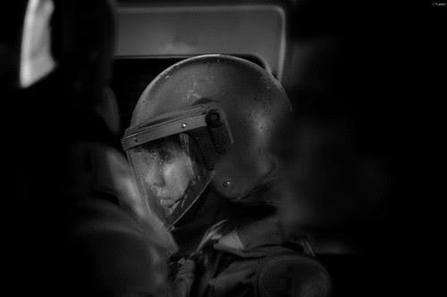 La belleza no se ve opacada ni siquiera con el casco... by Alejandro Bonilla