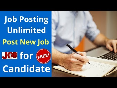 Free Job Posting sites in India