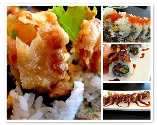 benii sushi rolls