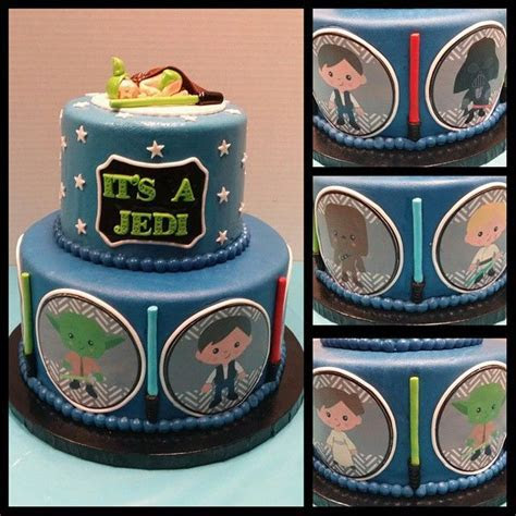 Star Wars Baby Shower Cake Pictures, Photos, and Images