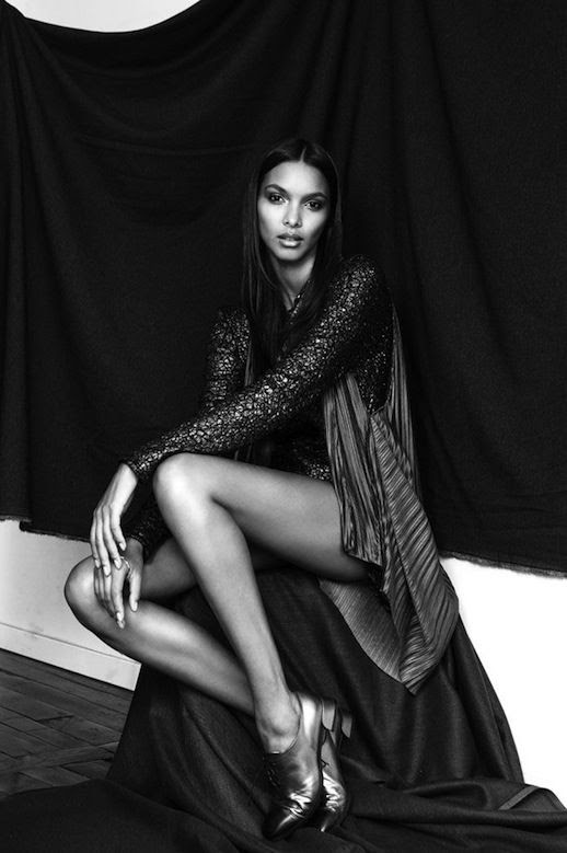 LE FASHION BLOG MODEL CRUSH LAIS RIBEIRO BRAZIL BRAZILIAN MODEL Photographer Jurij Treskow LONG LEGS CAP TOE METALLIC OXFORDS 4 photo LEFASHIONBLOGMODELCRUSHLAISRIBEIRO4.jpg