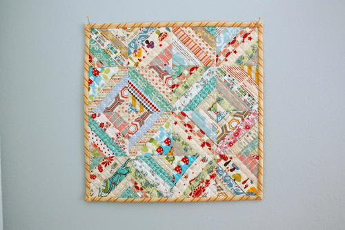 Enchanted Cottage Mini Quilt