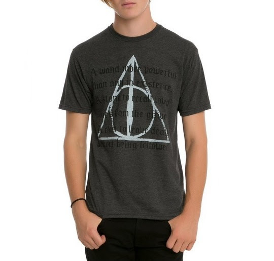 Harry Potter Deathly Hallows T-Shirt