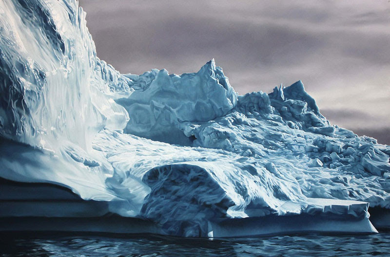 pastel drawings of icebergs by zaria forman (8)