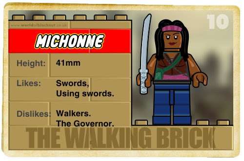 Slightly Inappropriate Lego #10 : Michonne