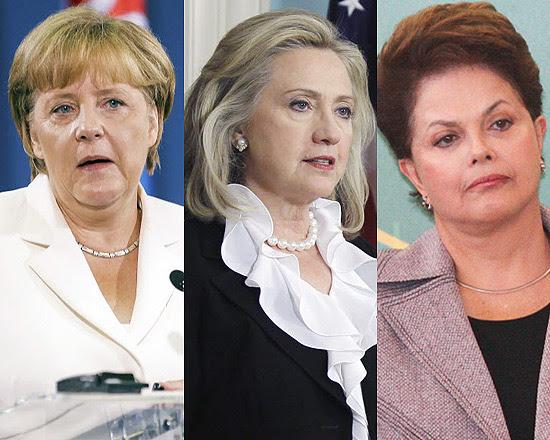 Angelar Merkel, Hillary Clinton e Dilma Rousseff estão no topo da lista de mais poderosas da 'Forbes
