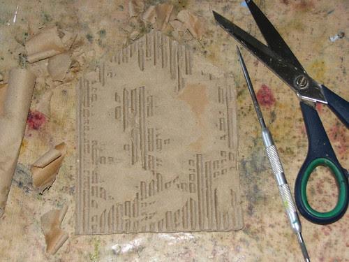 Mom Gothic Arch - #7 Cardboard 005
