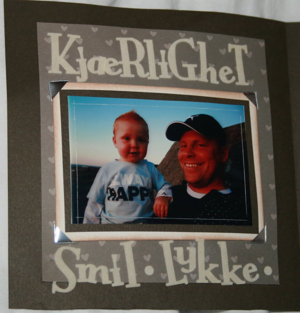 Bilde av far og sønn