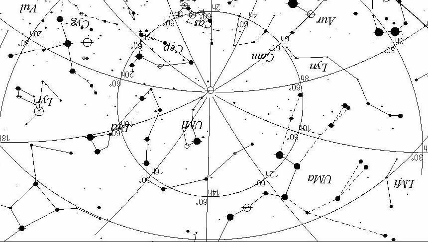 Image Result For Sky Map