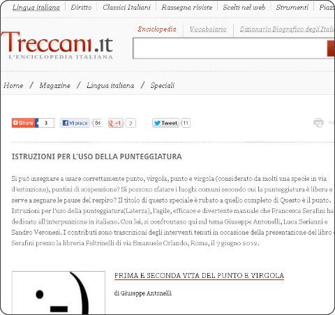 http://www.treccani.it/magazine/lingua_italiana/speciali/uso_punteggiatura/mainSpeciale.html