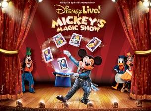 Ticketmaster Discount Code for Disney Live Mickey Magic Show in Staten Island, NY and Newark, NJ