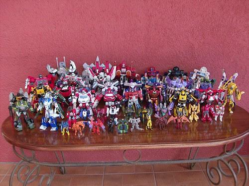 Mi Colección de Transformers (10-Abr-2009) - Classics/Universe/Henkei
