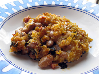 cranberry bean gratin