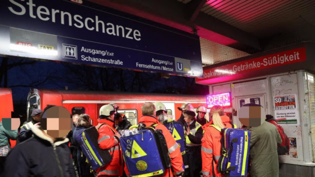 Συναγερμός στην Γερμανία! Επίθεση με αέριο σε σταθμό τρένου - Πανικός και τραυματίες [pics]