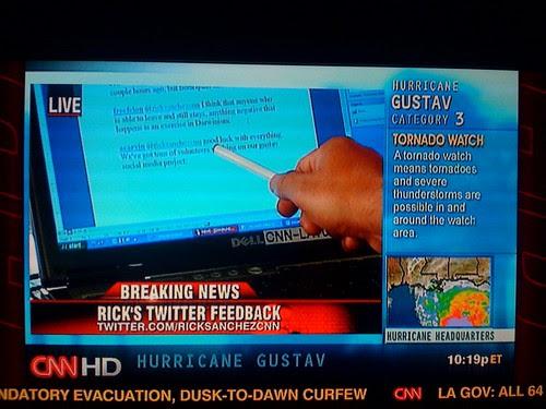 @acarvin tweet on CNN