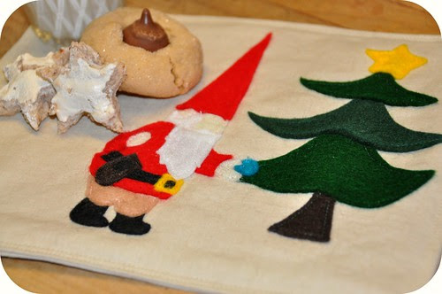 Gnome Snack Mat
