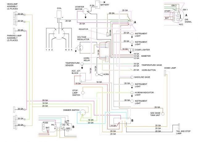 1959 Cadillac Wiring Diagram