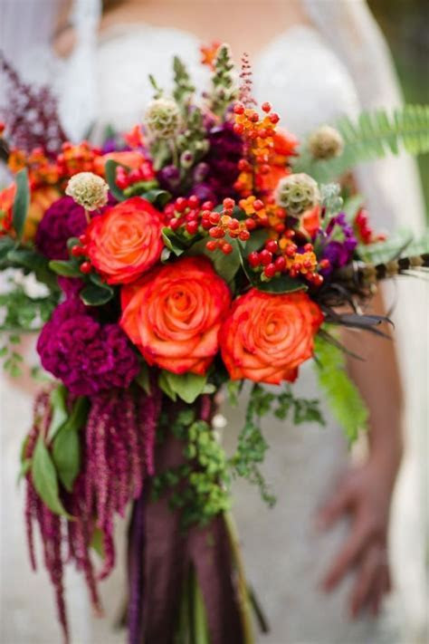 Best 25  Fall flowers for weddings ideas on Pinterest