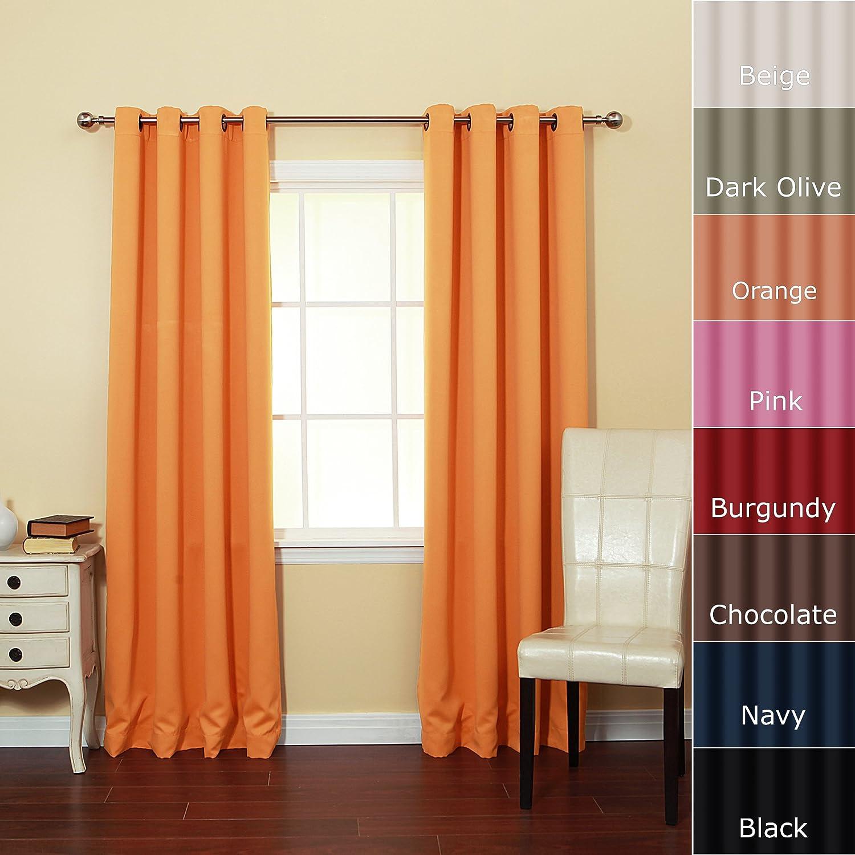 Amazon.com: Orange - Draperies & Curtains / Window Treatments ...