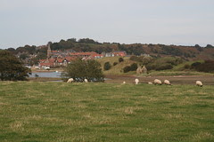 Alnmouth from south of the river