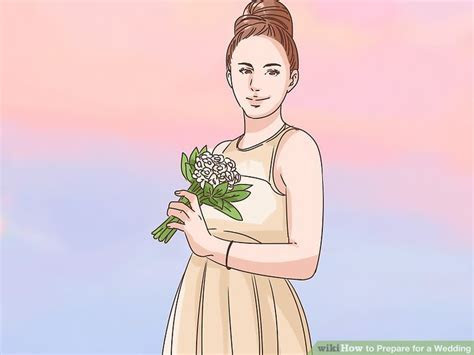 How to Prepare for a Wedding (with Pictures)   wikiHow